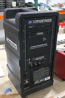 Amplivox SW915 Digital Audio Travel partner  w/CD Player No Remote