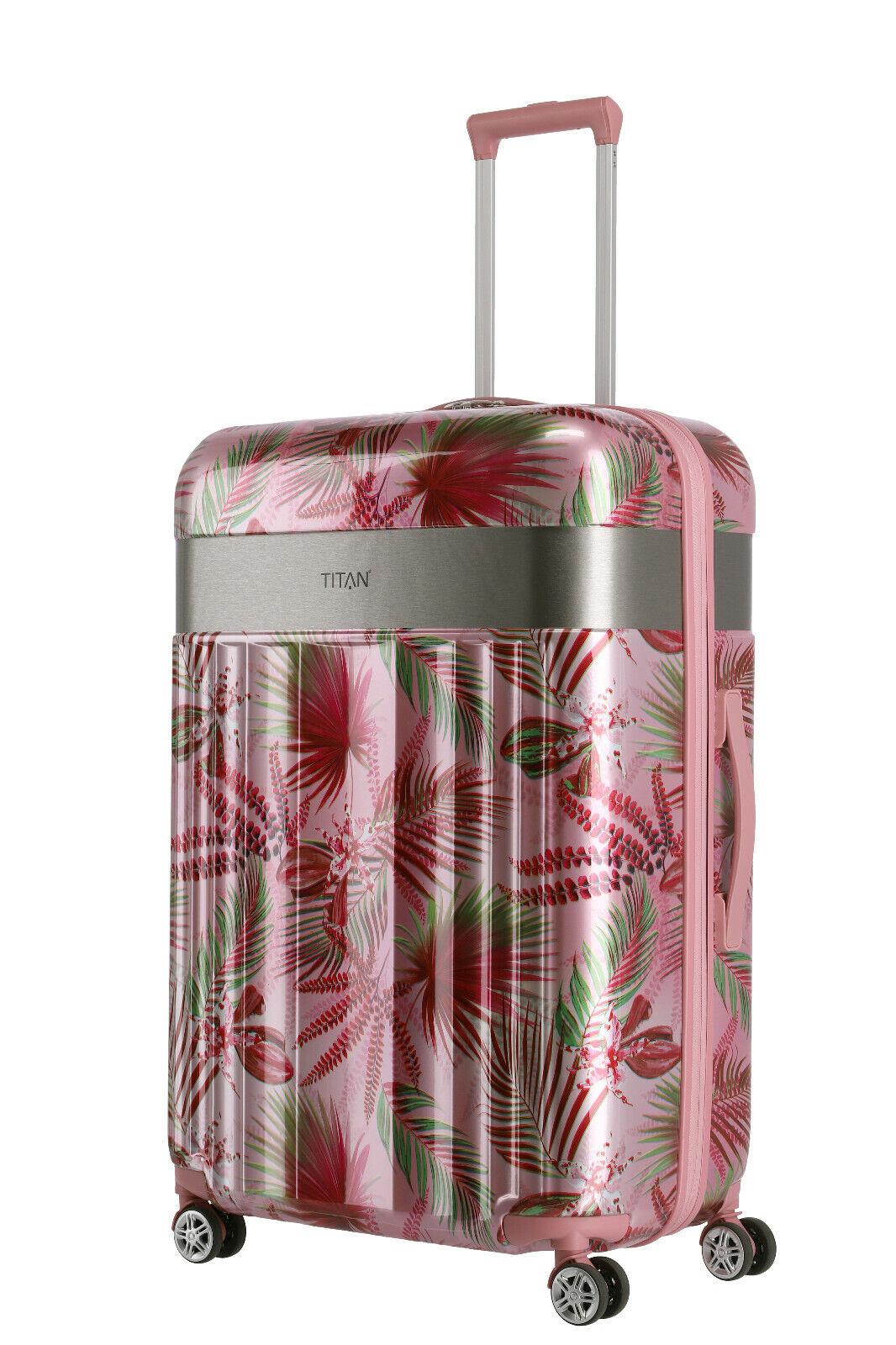 Titan Spotlight Flash  4w 4 Rollen Koffer Trolley L 76 cm Pink Hawai -%