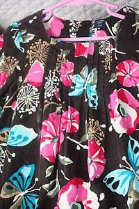 GIRL CORDUROY CHOCOLATE DRESS - SIZE 5 Belrose Warringah Area Preview