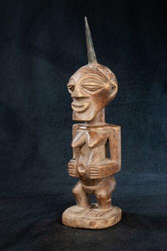 Songye, Fetish Figure, Democratic Republic of Congo, Central African Tribal Art.