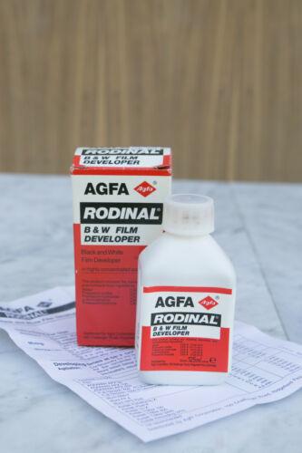 AGFA Rodinal Film Developer 125 mL NOS