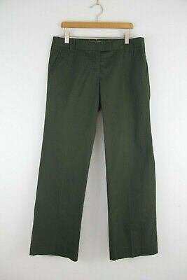 J.Crew Weathered Chino Pants Size 2 S Womens Broken In City Fit Classic Twill