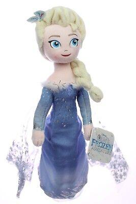 "Elsa 10.5"" Official Olaf's Frozen Adventure 2017 Just Play Plush Figure"