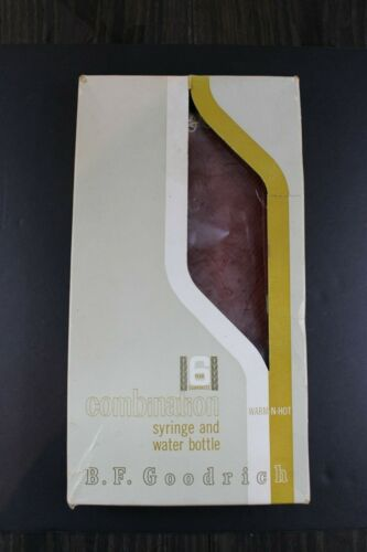 Vintage Advertising - B.F. Goodrich - Hot Water Bottle - Rubber