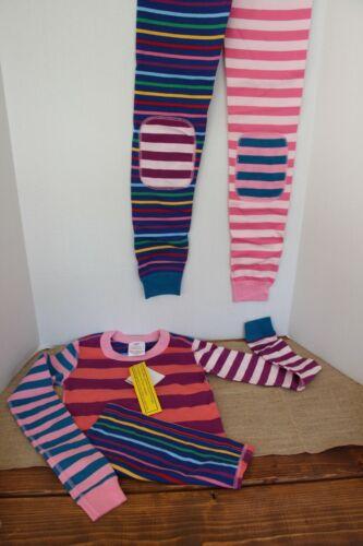 Hanna Anderson Mix-It-Up Pajama Set Pink cm140=US 10 yrs girls NWT
