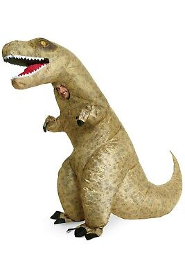 NWT CHASING FIREFLIES ADULT ONE SIZE GIANT INFLATABLE T-REX DINOSAUR COSTUME