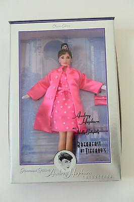 Audrey Hepburn Breakfast at Tiffany's Pink Princess 1999 Barbie Doll - NEW