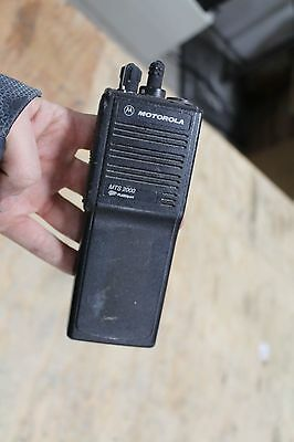 Motorola Mts2000 Radio H01wcd4pw1cn Flashport No Battery