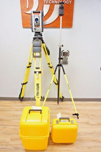 "Trimble S8 Dr Hp Finelock Vision Robotic Total Station 1"" Sec Tsc3 Access Mt1000"