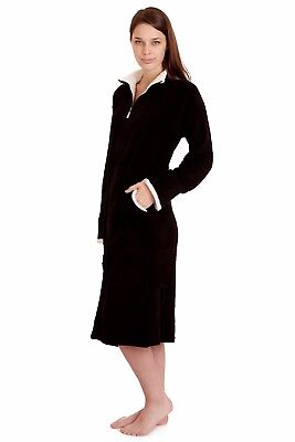 Spa Robe (4065 Womens Spa Robe Long Plush BathRobe Super Soft Thick Warm)
