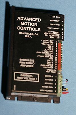 Advanced Motion Controls Brushless Pwm Servo Amplifier B12a6b