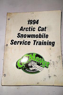 1994 Arctic Cat Snowmobile Service Training - Cat Master