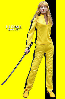 KILL BILL Screen Accurate Yellow Track Suit, the Bride, Uma Thurman, Bruce - Uma Kill Bill Kostüm