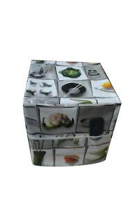 1.5 Oz environ 42.52 g Hexagonal mini pots de verre avec argent couvercles et Étiquettes Pack De 24