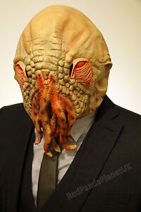 Doctor Who Ood Mask Octopus Fancy Dress Costume NEW