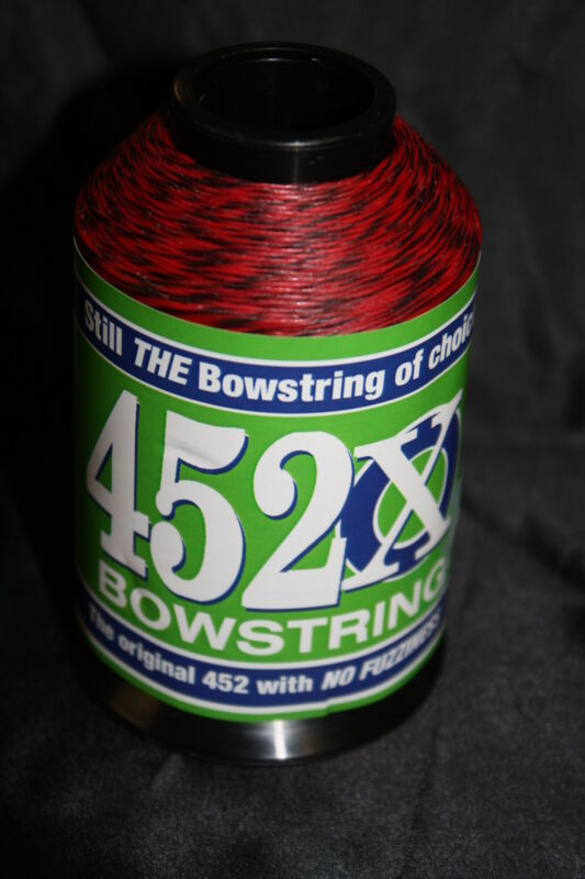 Red & Black Speckled 1/8lb BCY 452X Bowstring Material Bow String Making