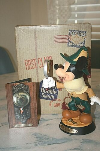 Disney Limited edition Mickey Bobble Sleuth