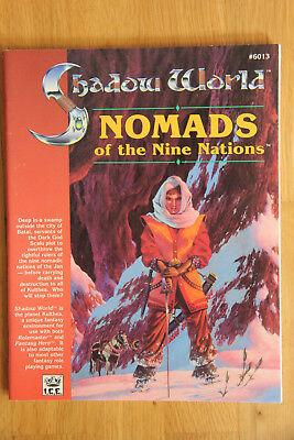 ICE - Rolemaster Shadow World: Nomads of the Nine Nations (1990) gebraucht kaufen  München