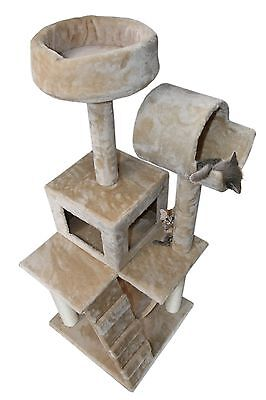 49  Cat Tree Tower Condo Scratch Post Kitty Pet House With Sisal Pole Hammock