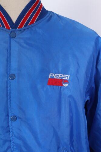 Vintage 80s PEPSI COLA SODA Uniform Driver Jacket USA Mens Size XL