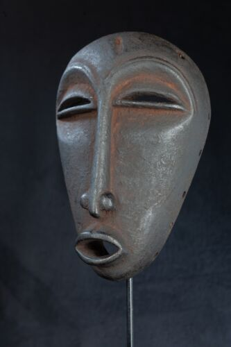 Hemba Mwele Mbambala Mask, D.R. Congo, Central African Tribal Art.