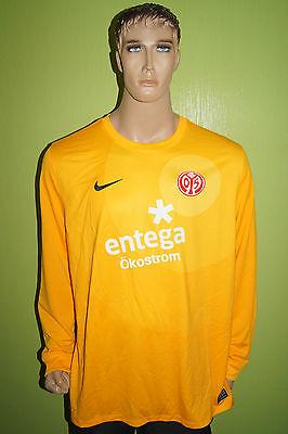 Nike Mainz 05 Torwart Trikot Jersey Maillot Gr XXL 2XL orange