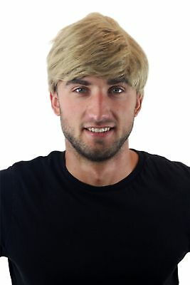 Herrenperücke Perücke Herren Männer Dunkelblond Blond Kurz Scheitel - Blonde Herren Perücke