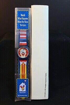Ronald McDonald WATCH  - Kimberly-Clark / Ronald McDonald House Charities