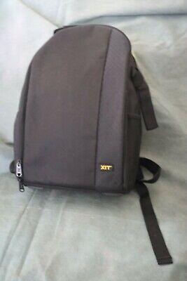 Digital Video Camera Backpack Full Padded Black Photo Equipment Storage Bag