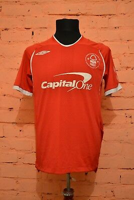 FC NOTTINGHAM FOREST HOME FOOTBALL SHIRT 2008/2009 JERSEY MAGLIA MAILLOT UMBRO image