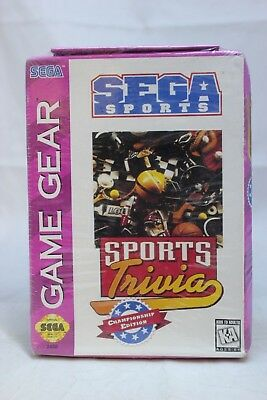 Sports Trivia: Championship Edition (Sega Game Gear, 1995)