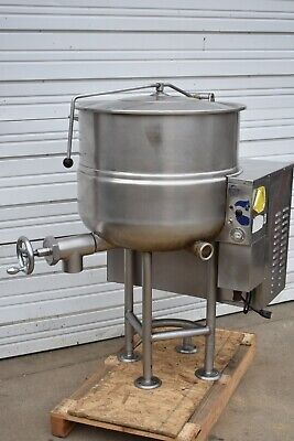Cleveland Kgl-40 Natural Gas 40 Gal Soup Sauce Steam Kettle