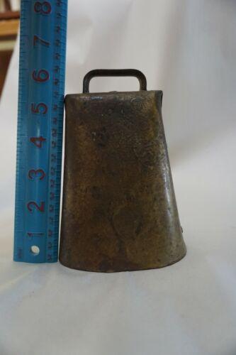 HOLSTEIN Large Bell Kentucky Cow Bell Brass Blum?