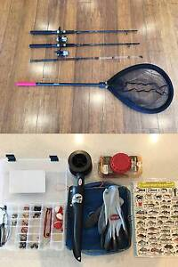 2x Shimano Fishing Rods | Nets | Tackle | Guide | Lines | Knife South Coogee Eastern Suburbs Preview