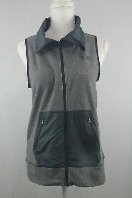 Under Armour Womens UA Lightweight Top Vest Full Zip Size S Workout Run Jog
