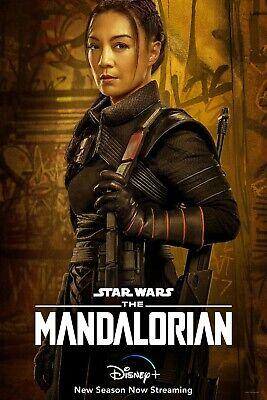 The Mandalorian Season 2 TV Poster (24x36) - Ming-Na Wen, Fennec Shand v12