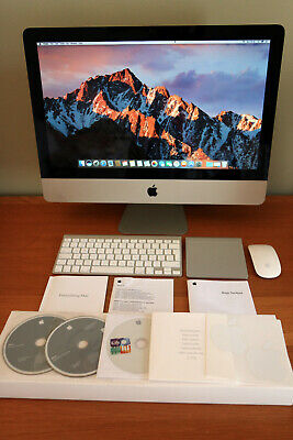 "Apple iMac 21.5"", 3.06GHz,12GB RAM,10.12 Sierra ,Trackpad, EXCELLENT CONDITION"