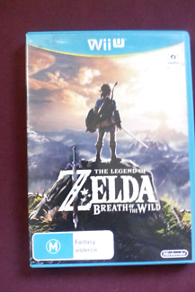 Zelda Breath of the Wild Wii U