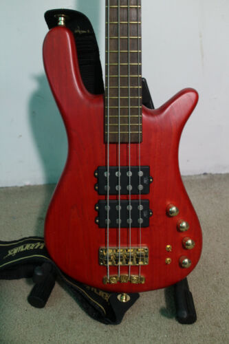 RARE 2006 Warwick Streamer $$ Double Buck Bass Guitar MADE IN GERMANY MIG w CASE