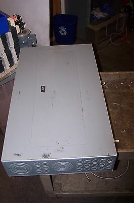 Square D 225 Amp Main Lug Panelboard 208y120 Vac 3 Phase 42 Circuit