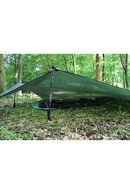 Snugpak All Weather Shelter G2 Green Camping Tarp Bivi Tent Army Basha NEW