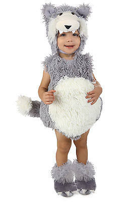 NEW Wolf Costume Beau Vintage by Princess Paradise Baby 6 9 12 18 24 months 2T 2 - Baby Wolf Costume