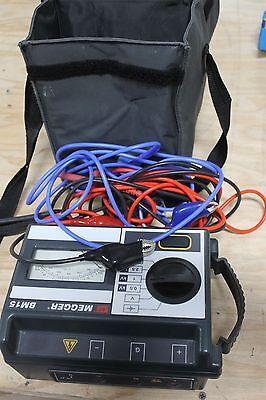 Biddle Megger Bm15 Analog 5 Kv Megger Insulation Tester