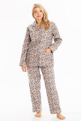 2-Piece 100% Soft Cotton Quality Women's Floral Sleepwear Loungewear Pajama Set ()