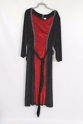 Women's Halloween Red Black Bride of Dracula  Dress Fancy Dress Costume XXL (60) - Bride Of Dracula Halloween Costumes