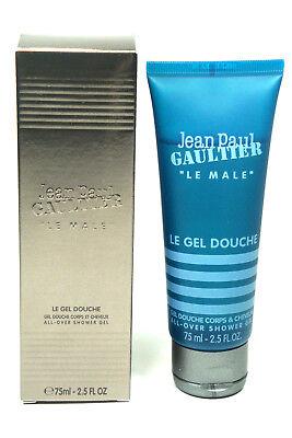 Jean Paul Gaultier JPG Le Male 2.5oz / 75ml All Over Shower Gel NEW IN (Jean Paul Gaultier Le Male Shower Gel)