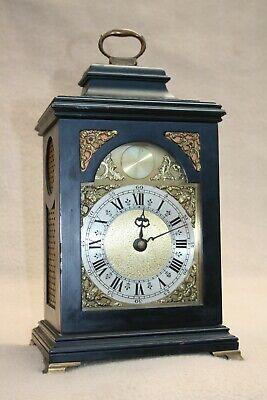 VINTAGE 18TH CENTURY STYLE MINIATURE BRACKET CLOCK