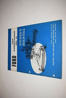 Ford Series 150 Hay Conditioner Owners Manual