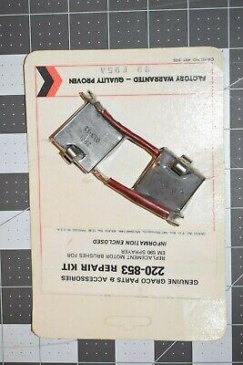 New Graco Motor Brush Kit 220-853 220853 For Em590 Ultra 500