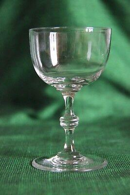 Val-Saint-Lambert cristal verre à porto, liqueur  ou vin ( modèle Léa? )